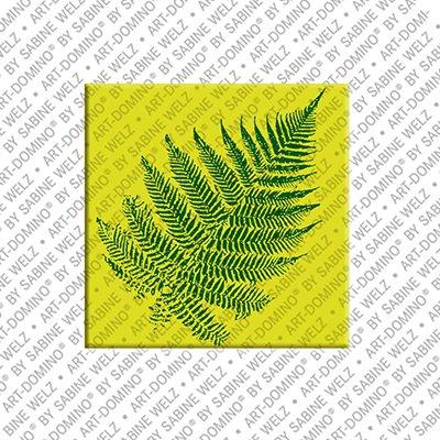 ART-DOMINO® by SABINE WELZ Neuseeland - Silber Farn
