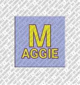 ART-DOMINO® by SABINE WELZ Magnet MAGGIE