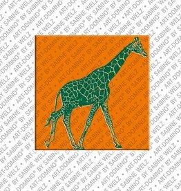 ART-DOMINO® by SABINE WELZ Aimant - Girafe - 01