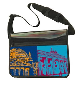 ART-DOMINO® by SABINE WELZ CITY-BAG - BERLIN - 459