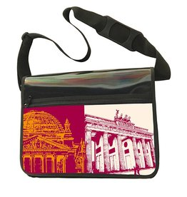 ART-DOMINO® BY SABINE WELZ CITY-BAG - BERLIN - 460