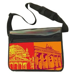 ART-DOMINO® BY SABINE WELZ CITY-BAG - BERLIN - 461