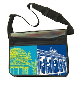 ART-DOMINO® BY SABINE WELZ CITY-BAG - BERLIN - 462