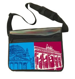 ART-DOMINO® BY SABINE WELZ CITY-BAG - BERLIN - 464