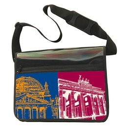 ART-DOMINO® BY SABINE WELZ CITY-BAG - BERLIN - 465