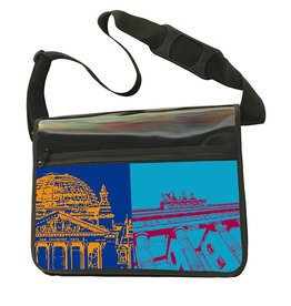 ART-DOMINO® BY SABINE WELZ CITY-BAG - BERLIN - 467
