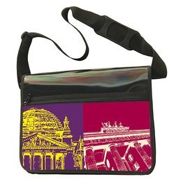 ART-DOMINO® by SABINE WELZ CITY-BAG - BERLIN - 469
