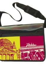 ART-DOMINO® by SABINE WELZ CITY-BAG - Unikat - Nummer 470 mit Berlin-Motiven