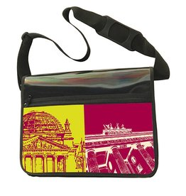 ART-DOMINO® by SABINE WELZ CITY-BAG - BERLIN - 470