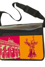 ART-DOMINO® by SABINE WELZ CITY BAG - Unique - Number 474 with Berlin motif