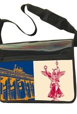 ART-DOMINO® BY SABINE WELZ CITY-BAG - Unikat - Nummer 476 mit Berlin-Motiven