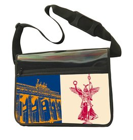 ART-DOMINO® BY SABINE WELZ CITY-BAG - BERLIN - 476