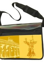 ART-DOMINO® BY SABINE WELZ CITY-BAG - Unikat - Nummer 477 mit Berlin-Motiven