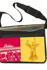ART-DOMINO® by SABINE WELZ CITY-BAG - Unikat - Nummer 478 mit Berlin-Motiven
