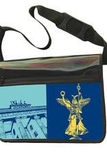 ART-DOMINO® BY SABINE WELZ CITY-BAG - Unikat - Nummer 480 mit Berlin-Motiven