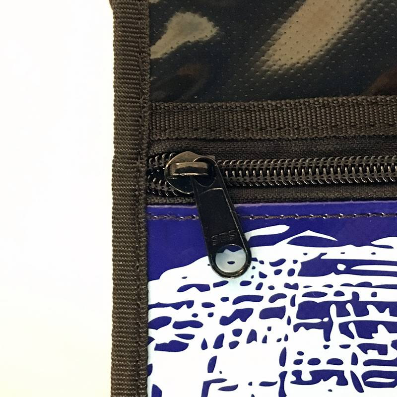 ART-DOMINO® by SABINE WELZ CITY-BAG - Unikat - Nummer 503 mit Berlin-Motiven