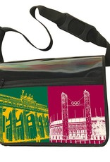 ART-DOMINO® by SABINE WELZ CITY BAG - Unique - Number 527 with Berlin motif