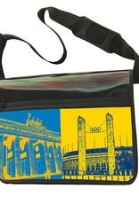 ART-DOMINO® by SABINE WELZ CITY BAG - Unique - Number 528 with Berlin motif