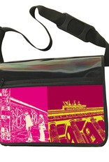 ART-DOMINO® BY SABINE WELZ CITY-BAG - Unikat - Nummer 529 mit Berlin-Motiven