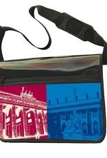 ART-DOMINO® by SABINE WELZ CITY-BAG - Unikat - Nummer 583 mit Berlin-Motiven