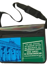 ART-DOMINO® BY SABINE WELZ CITY-BAG - Unikat - Nummer 587 mit Berlin-Motiven