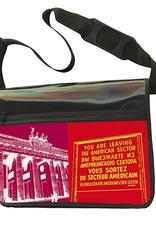 ART-DOMINO® BY SABINE WELZ CITY-BAG - Unikat - Nummer 588 mit Berlin-Motiven