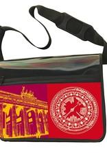 ART-DOMINO® BY SABINE WELZ CITY-BAG - Unikat - Nummer 591 mit Berlin-Motiven