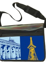 ART-DOMINO® by SABINE WELZ CITY-BAG - Unikat - Nummer 593 mit Berlin-Motiven