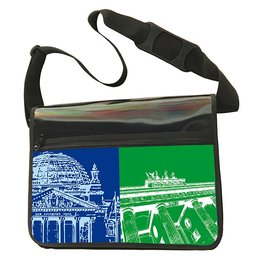 ART-DOMINO® by SABINE WELZ CITY-BAG - BERLIN - 436