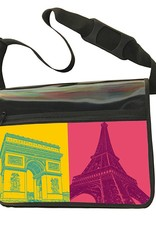 ART-DOMINO® BY SABINE WELZ CITY-BAG - Unikat - Nummer 554 mit Paris-Motiven