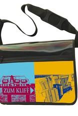ART-DOMINO® by SABINE WELZ CITY-BAG - Unikat - Nummer 566 mit Sylt-Motiven