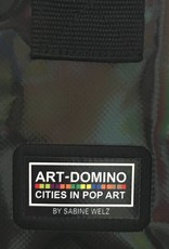 ART-DOMINO® by SABINE WELZ CITY-BAG - Unikat - Nummer 574 mit Hollywood-Motiven
