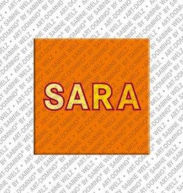 ART-DOMINO® by SABINE WELZ Magnet SARA