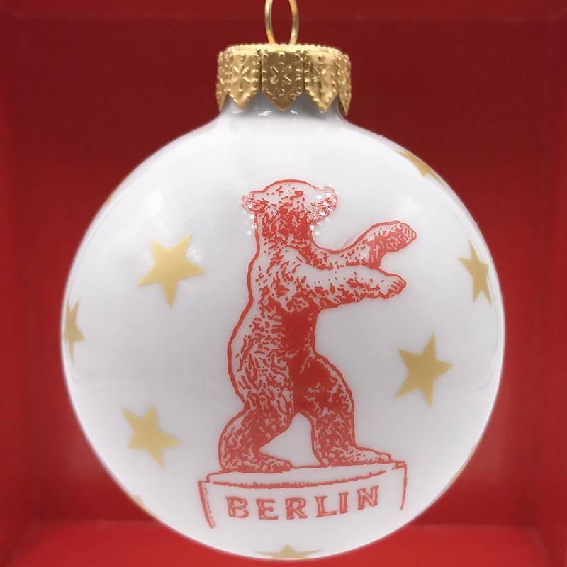 ART-DOMINO® by SABINE WELZ BERLIN WEIHNACHTSBAUMKUGEL - 01
