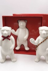 ART-DOMINO® by SABINE WELZ Porcelain bear from Berlin