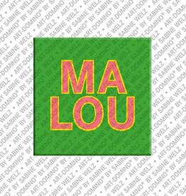 ART-DOMINO® by SABINE WELZ Magnet MALOU