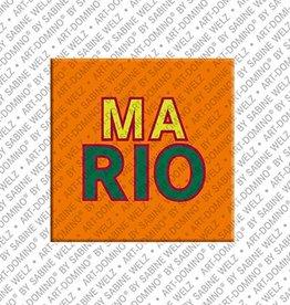 ART-DOMINO® by SABINE WELZ Magnet MARIO