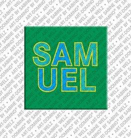 ART-DOMINO® by SABINE WELZ Magnet SAMUEL