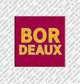 ART-DOMINO® by SABINE WELZ Magnet - Bordeaux - 00