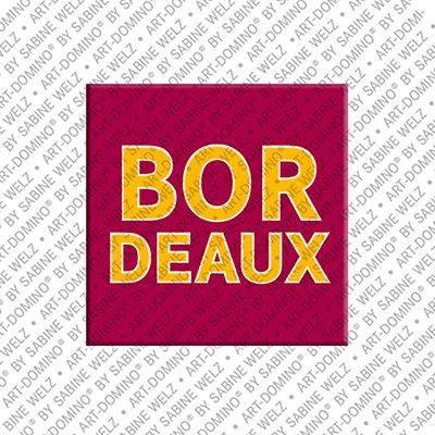 ART-DOMINO® by SABINE WELZ Bordeaux - Lettering