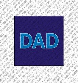 ART-DOMINO® by SABINE WELZ Magnet DAD