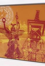 ART-DOMINO® by SABINE WELZ Berlin - Collage - 03 + Cadre