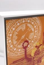 ART-DOMINO® by SABINE WELZ Berlin - Kollage - 03 + Rahmen