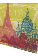 ART-DOMINO® by SABINE WELZ Paris - Collage - 01 - Small
