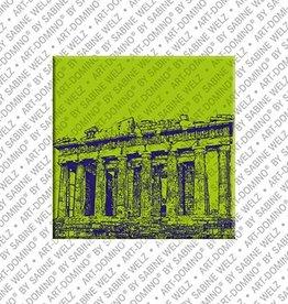 ART-DOMINO® by SABINE WELZ Magnet - Athen - 01