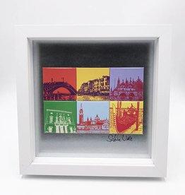 ART-DOMINO® by SABINE WELZ MAGNETBILD VENEDIG MOTIV-MIX 6-01