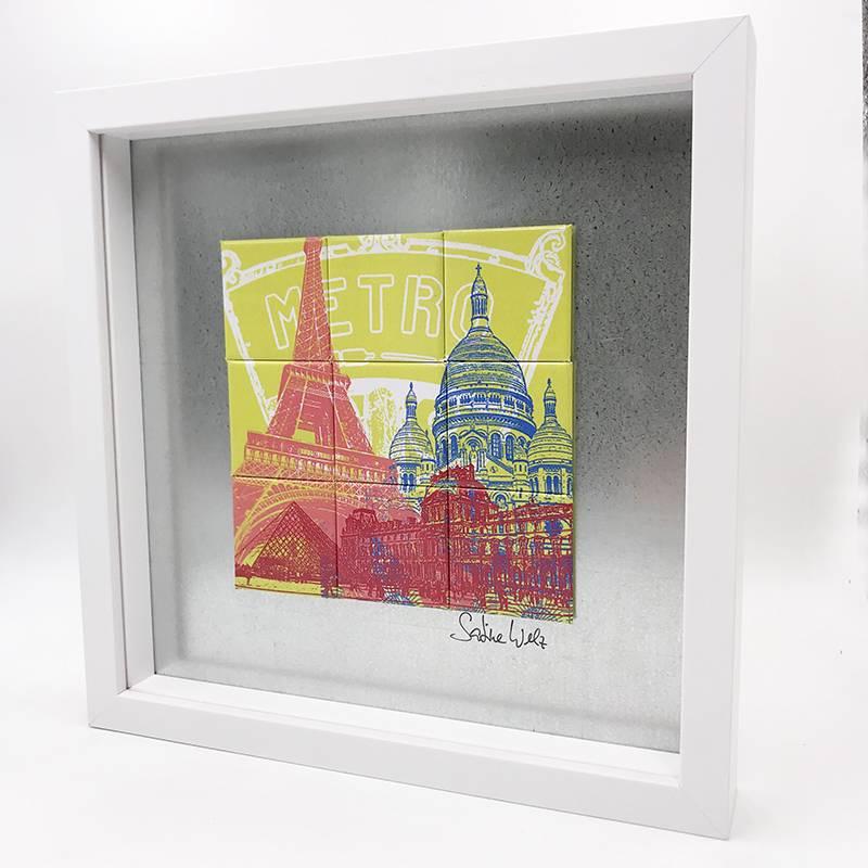 ART-DOMINO® by SABINE WELZ Paris - Collage - 2