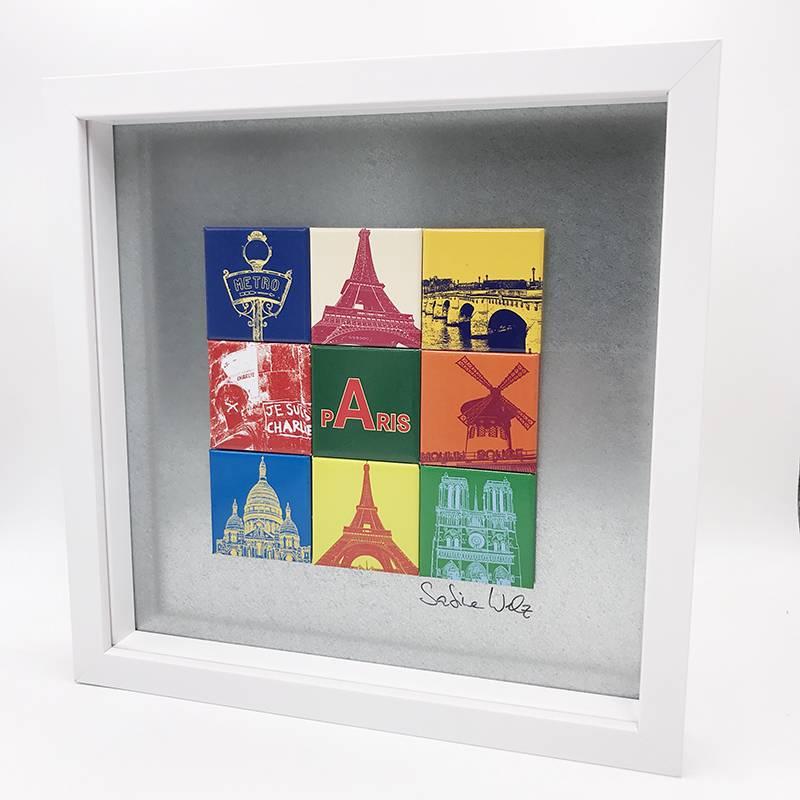 ART-DOMINO® by SABINE WELZ Paris - Motif Mix 9-01