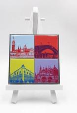ART-DOMINO® by SABINE WELZ Venise - Des motifs différents - 4 - 02