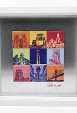 ART-DOMINO® by SABINE WELZ Lisbon - Motif Mix 9-01